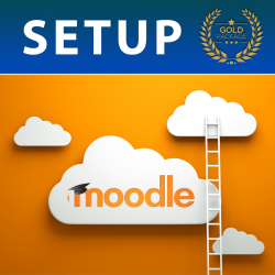Gold Moodle Setup Package (Free offer available!)