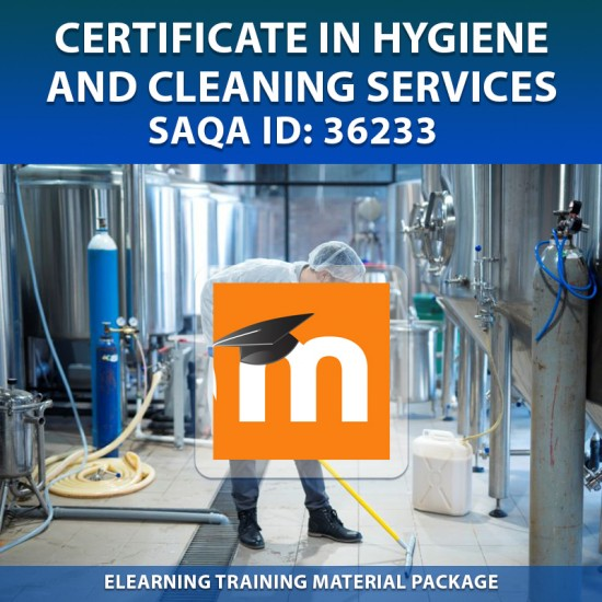 SAQA ID: 36233 Hygiene and Cleaning Level 2 - eLearning (Moodle) Format